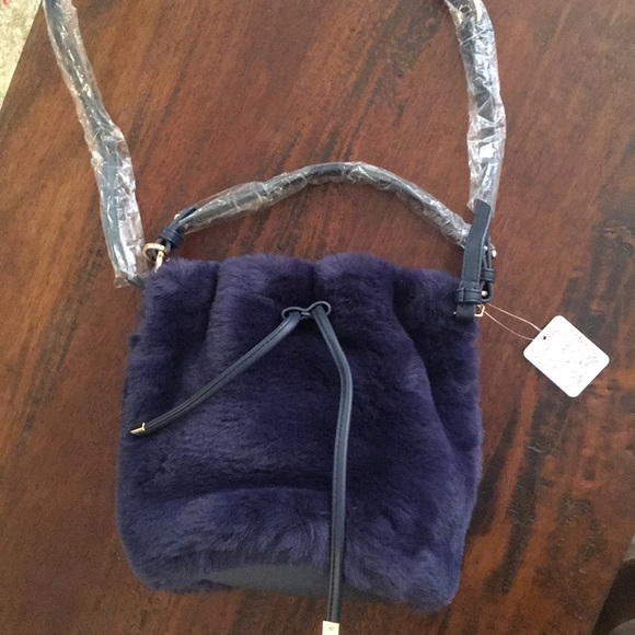 b5549dd8c3 Free People Faux Fur Bucket Bag